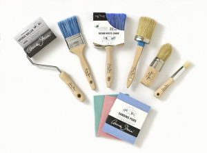 Annie Sloan Chalk Paint Roller, Brush and Sanding Pads selection