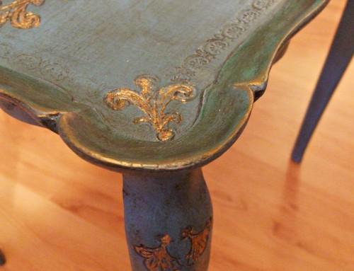 A majdnem florentine asztal…