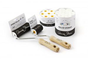 Sponge Rollers Large and Small with label and Sponge Refills