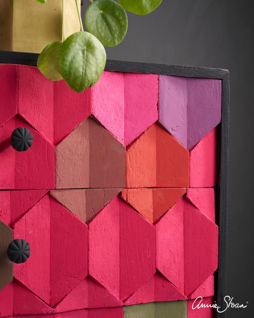 Modern-Geometric-Hexagon-Capri-Pink-chest-of-drawers-3