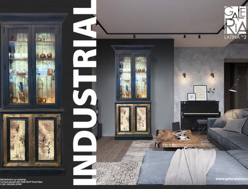 Stilul industrial- ghid stilistic de Nana Rădulescu