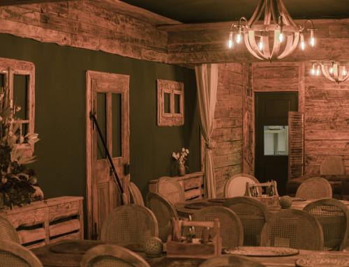 Stilul industrial rustic într-un restaurant recondiționat de către cei de la Kamandalu Art&Craft